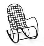Kovaný (kovový) nábytek - 1-013 - Kovové houpací křeslo