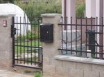 Kované brány, branky a vrata - 3-0154 - Kovaná branka