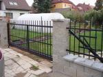 Kované brány, branky a vrata - 3-0155 - Kovaná brána