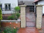 Kované brány, branky a vrata - 3-0157 - Kovaná branka