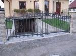 Kované brány, branky a vrata - 3-0164 - Kovaná brána