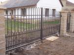 Kované brány, branky a vrata - 3-0166 - Kovaná brána