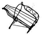 Kované bytové a zahradní doplňky - 5-0128 -